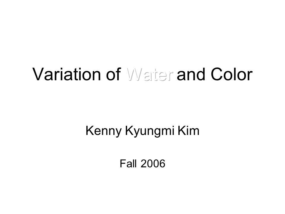 Kenny Kyungmi Kim Fall 2006