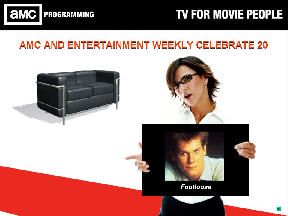 AMC AND ENTERTAINMENT WEEKLY CELEBRATE 20 A Christmas CarolThe OmenJewel of the NileAnimal HouseFootloose