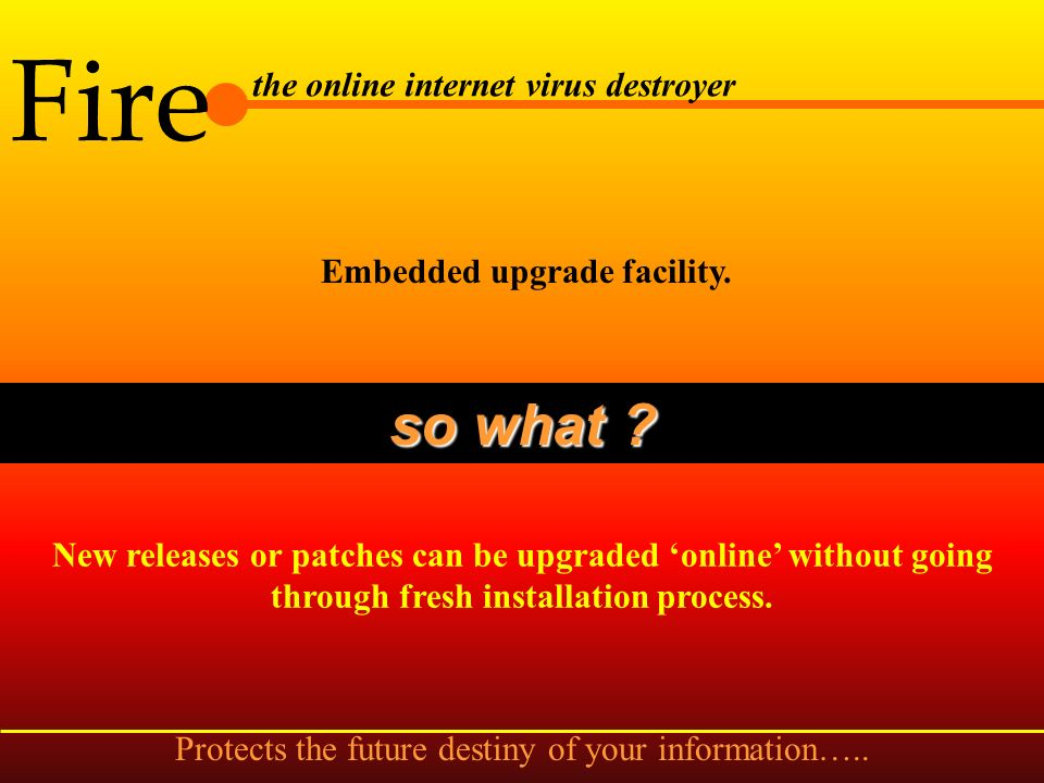 Fire the online internet virus destroyer Undo scanning option. so what ? This option will undo all the operation performed earlier by the scan engine
