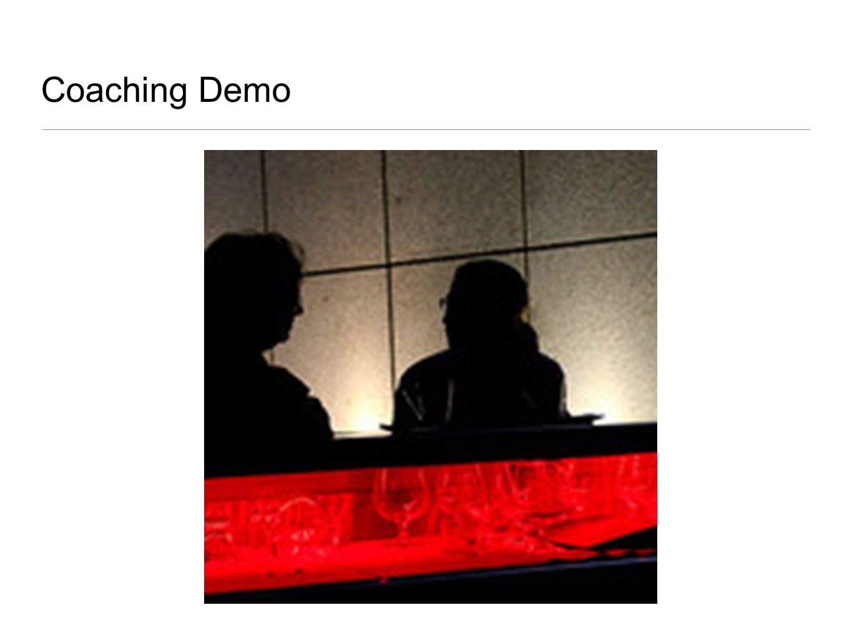Coaching Demo