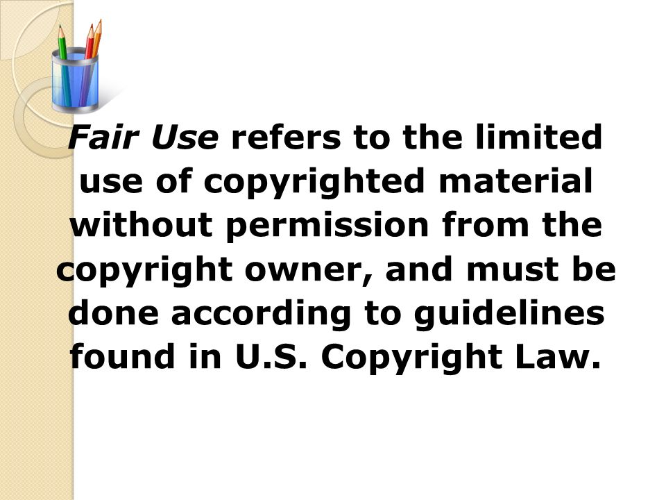 Solicit the copyright owner (artist, producer, or label company) with a written request to use the material. The manner or extent to which the materia