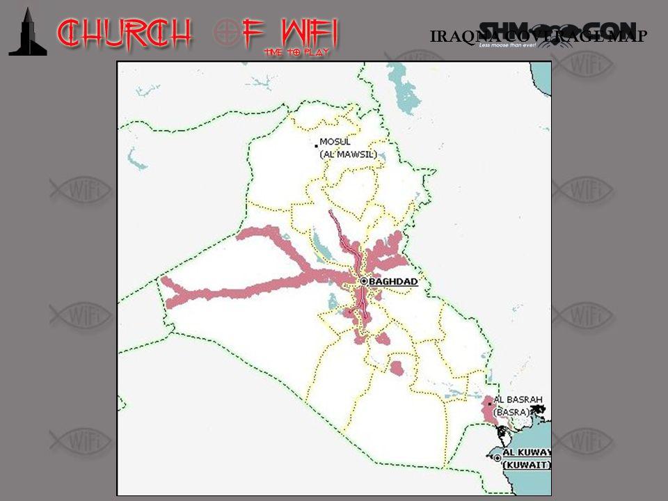 IRAQNA COVERAGE MAP