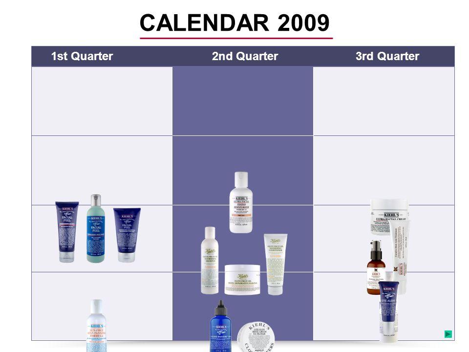 1st Quarter2nd Quarter3rd Quarter CALENDAR 2009