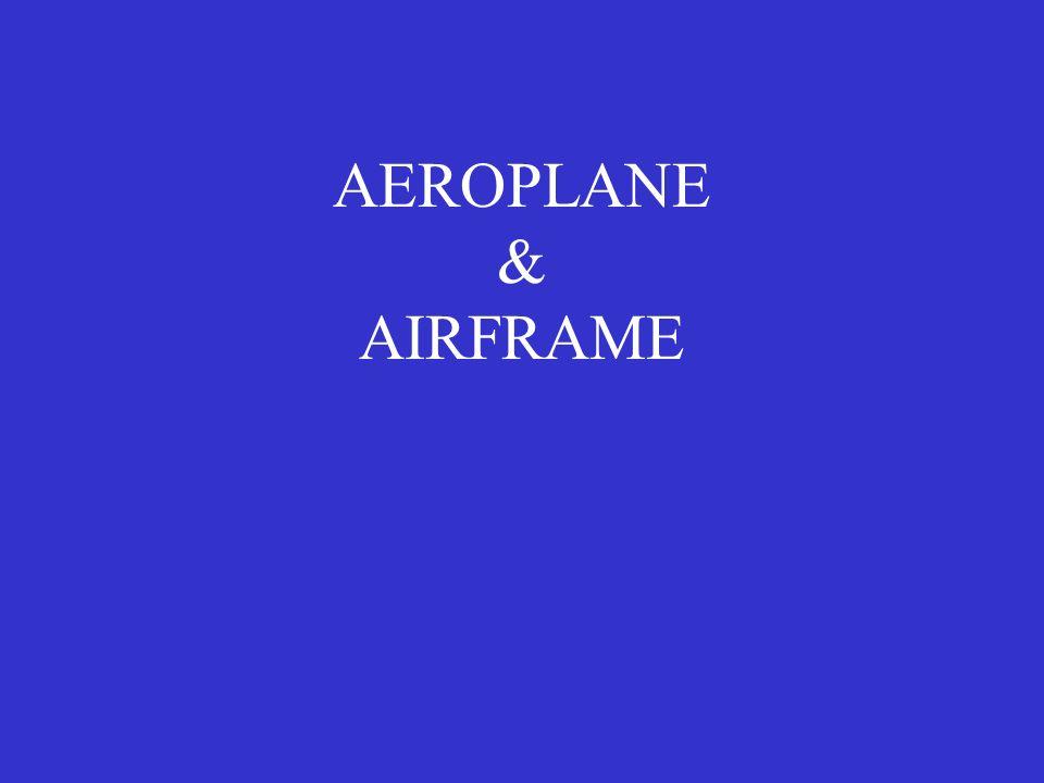 AEROPLANE & AIRFRAME