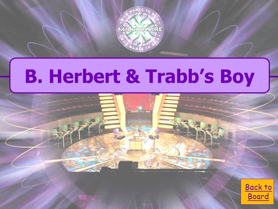 A. Joe & Biddy C. Drummle & Startop B. Herbert & Trabbs Boy D. Herbert & Joe Who saved Pip from old Orlick?