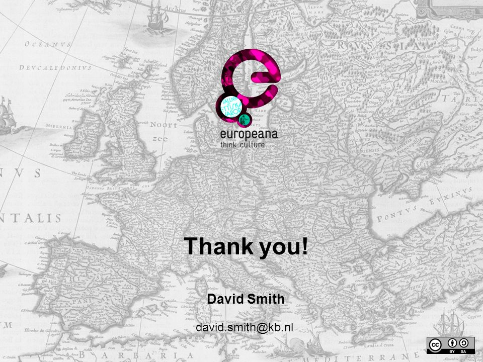 Thank you! David Smith