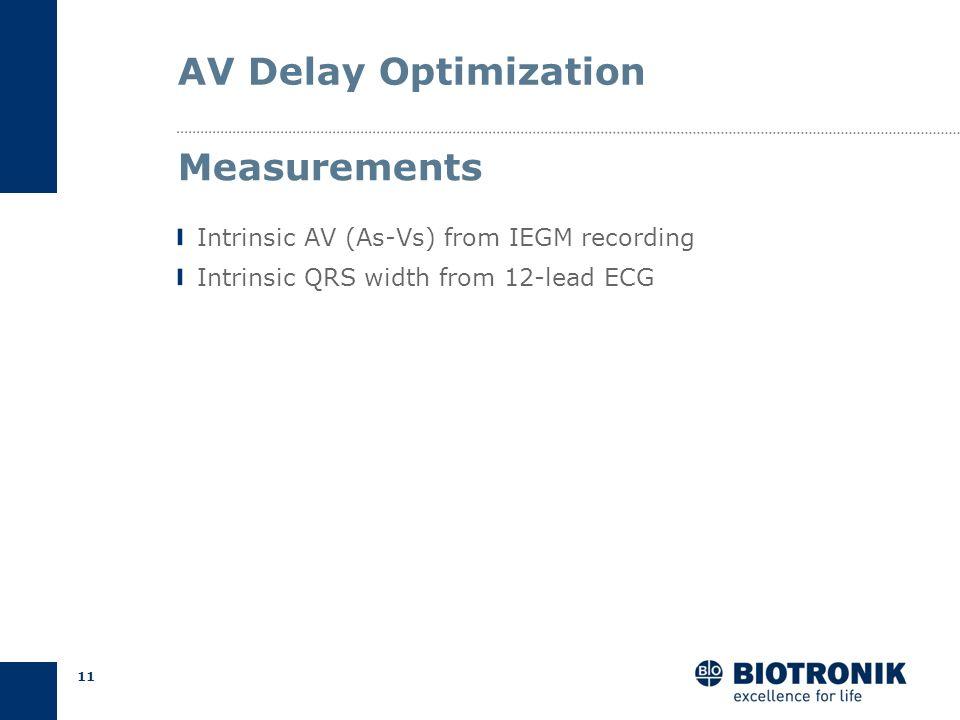 10 AV Delay Optimization Pulse pressure Empirical Calculation Echocardiography Methods