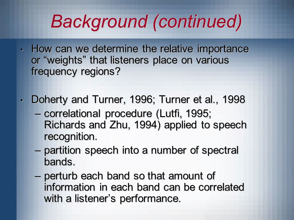 Band Number Normalized Band Importance 0 0.1 0.2 0.3 0.4 0.5 0.6 1234 0 0.1 0.2 0.3 0.4 0.5 0.6 A = 44.3% A = 70.9% Band Importance (Audio Alone)