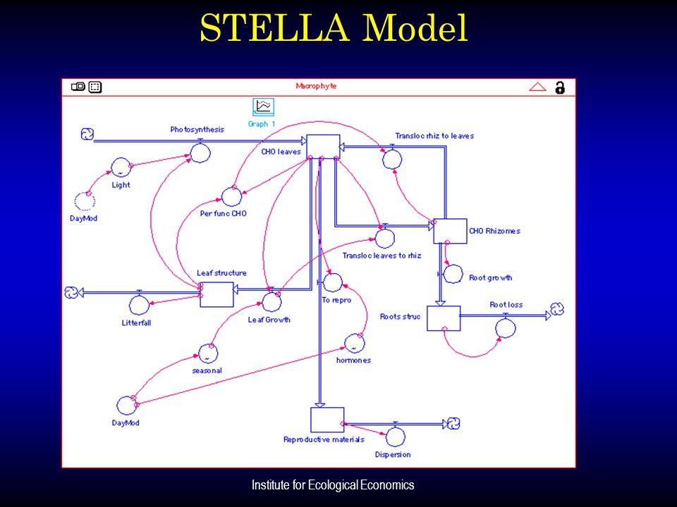 Institute for Ecological Economics STELLA Model
