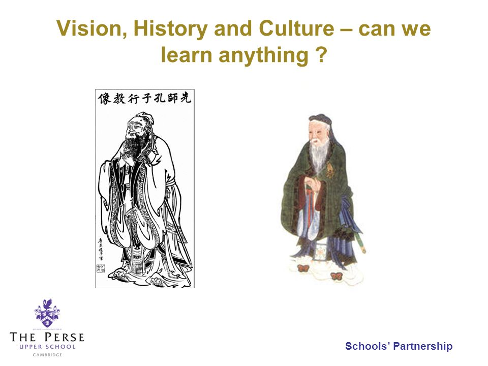 Vision, History and Culture – can we learn anything ?