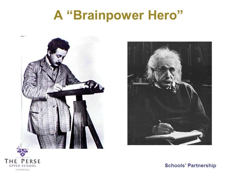 Schools Partnership A Brainpower Hero