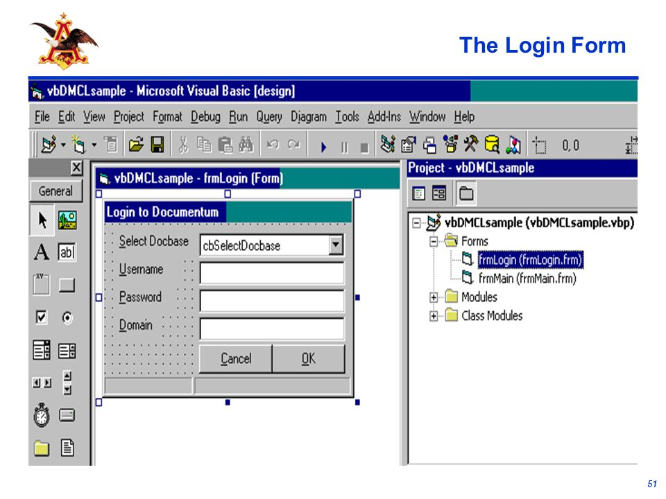 51 The Login Form