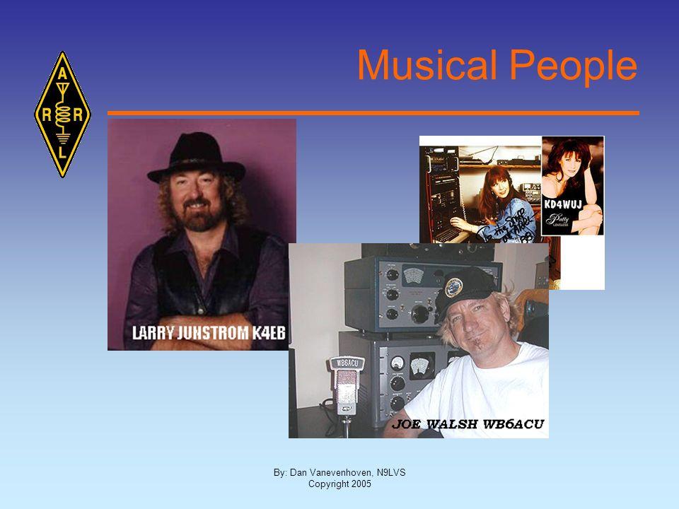 By: Dan Vanevenhoven, N9LVS Copyright 2005 Musical People