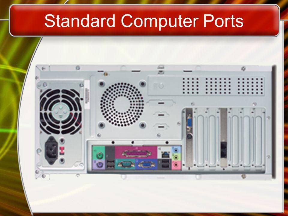 Standard Computer Ports