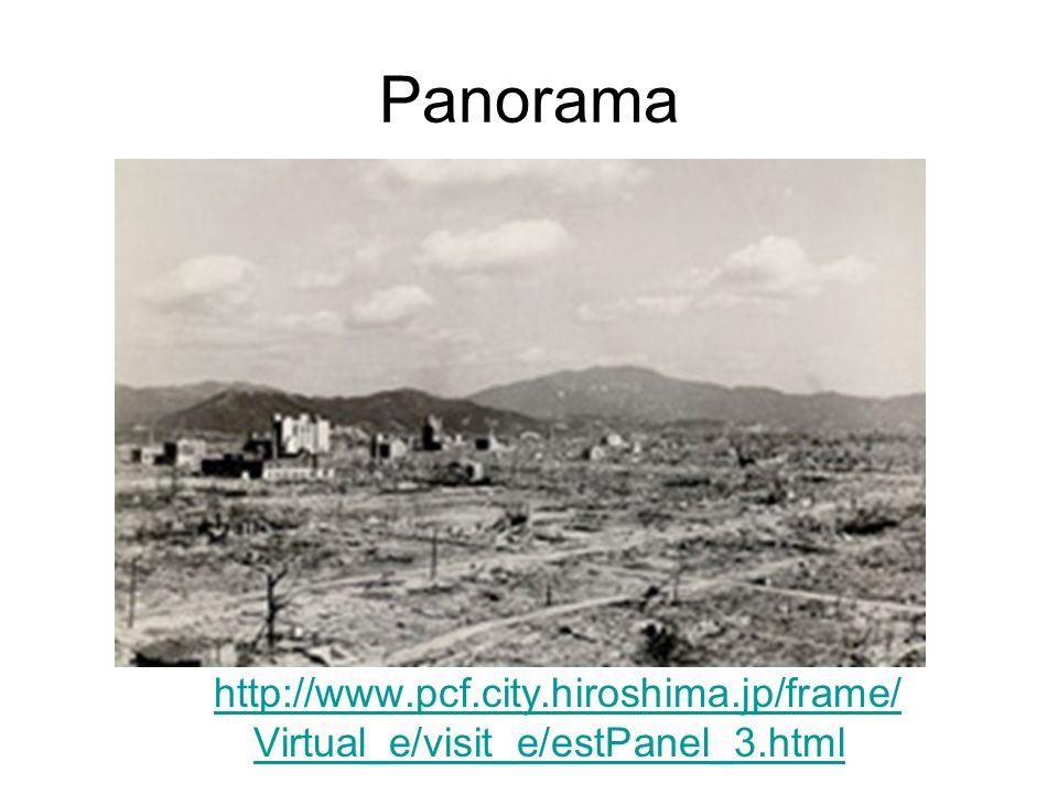 Panorama http://www.pcf.city.hiroshima.jp/frame/ Virtual_e/visit_e/estPanel_3.html