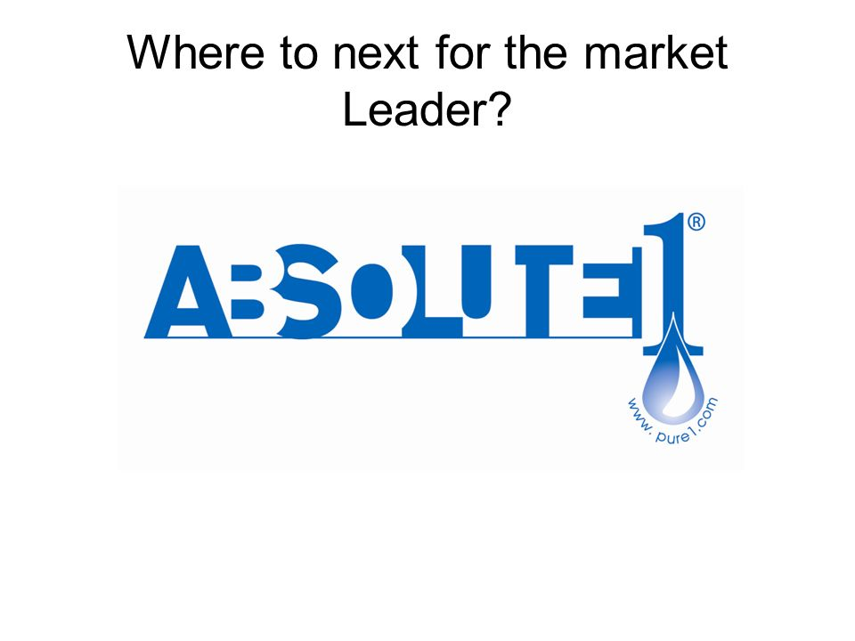 Where to next for the market Leader?