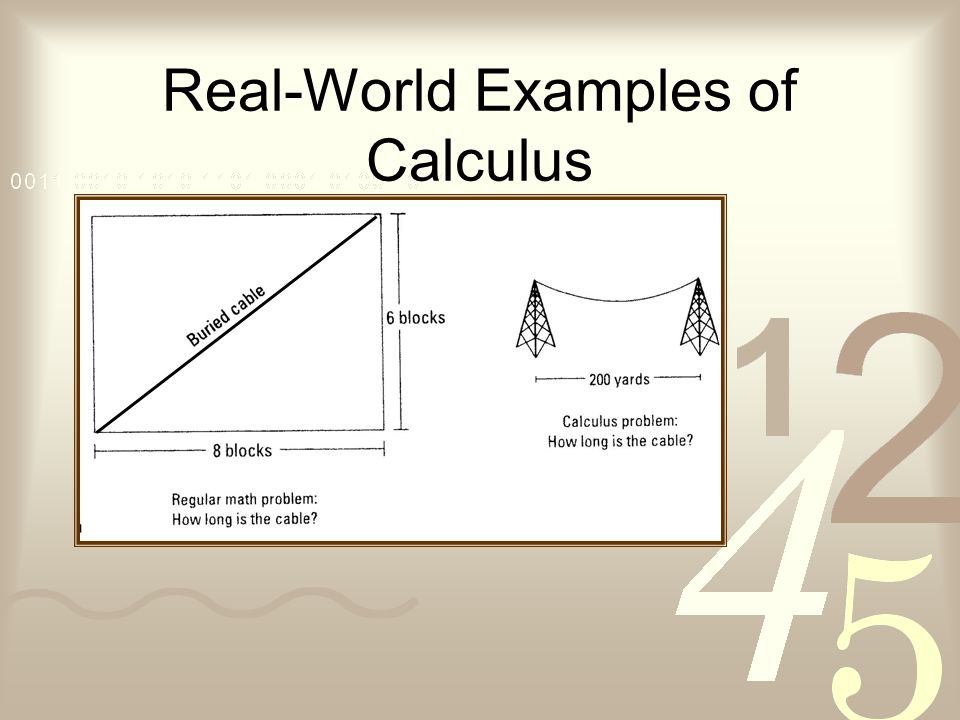 Real-World Examples of Calculus