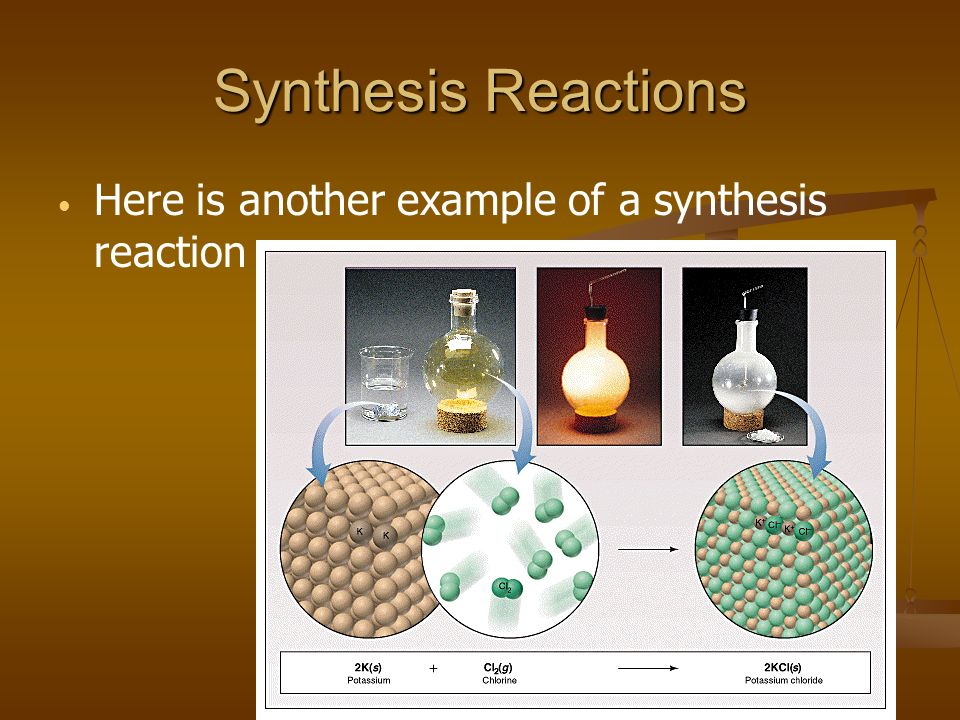 Practice Predict the products.Write and balance the following synthesis reaction equations.