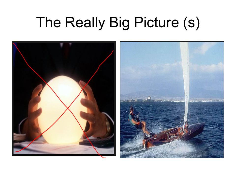 The Really Big Picture (s)