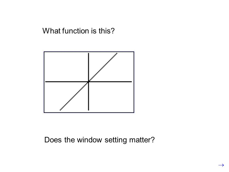 What function is this Does the window setting matter