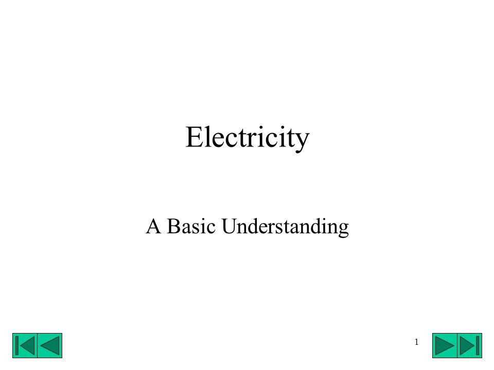 1 Electricity A Basic Understanding