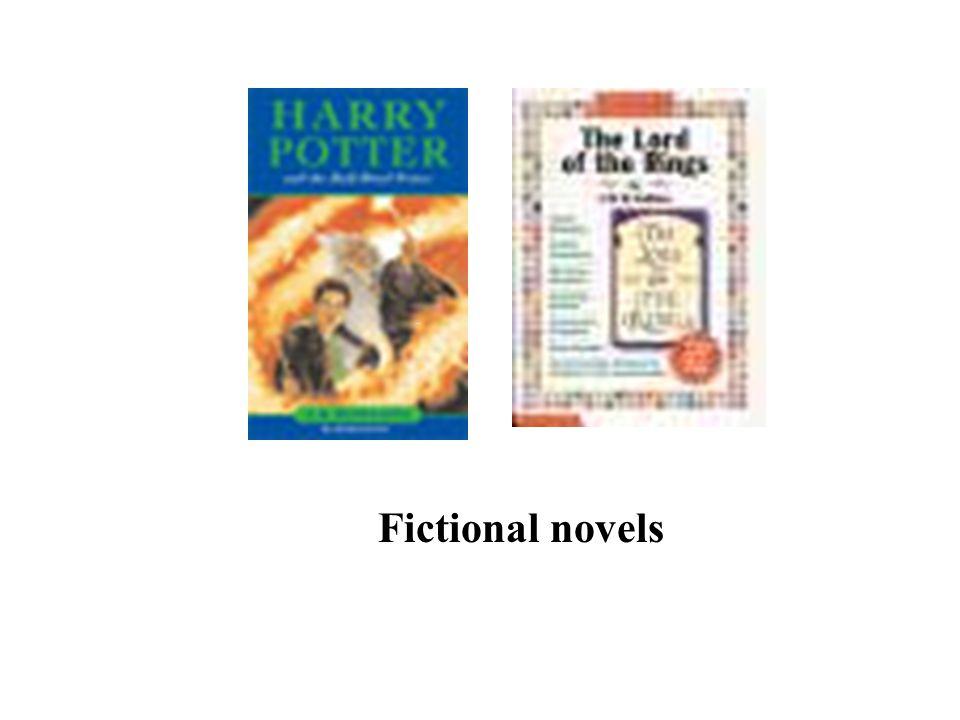 Fictional novels