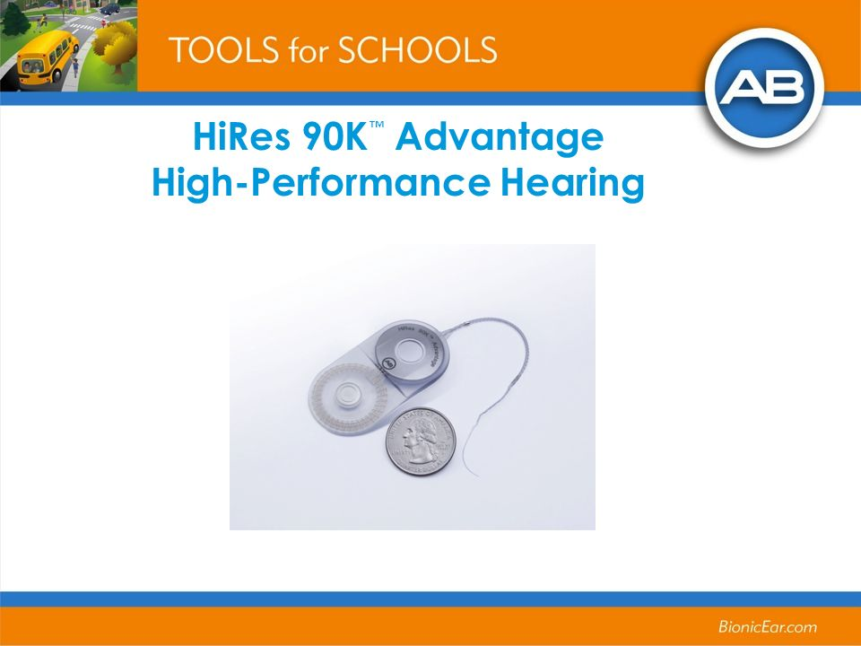 HiRes 90K Advantage High-Performance Hearing