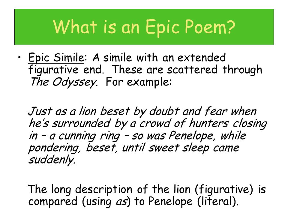 epic essay Haere mai, welcome to epic critical essays, book reviews, biographies and author interviews from a range of periods and genres recommended year levels 9-13.