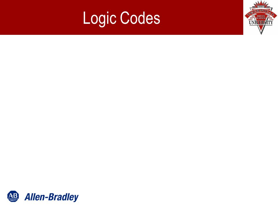 Logic Codes