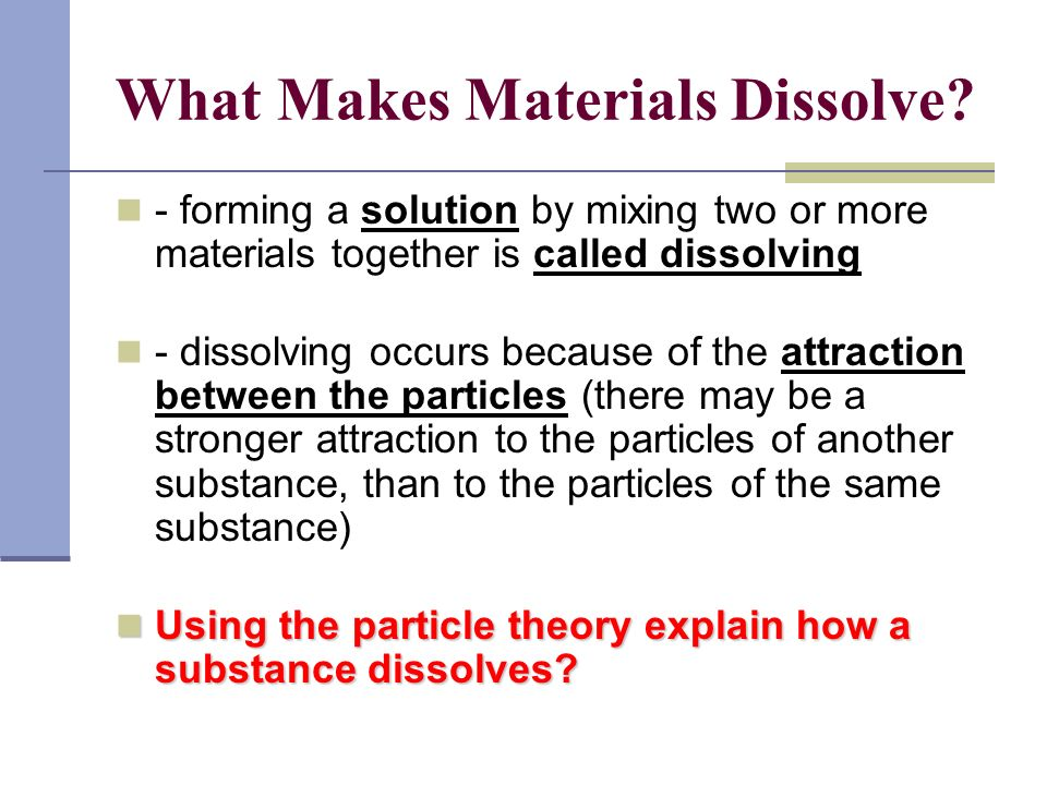 Why does Salt dissolve in water.