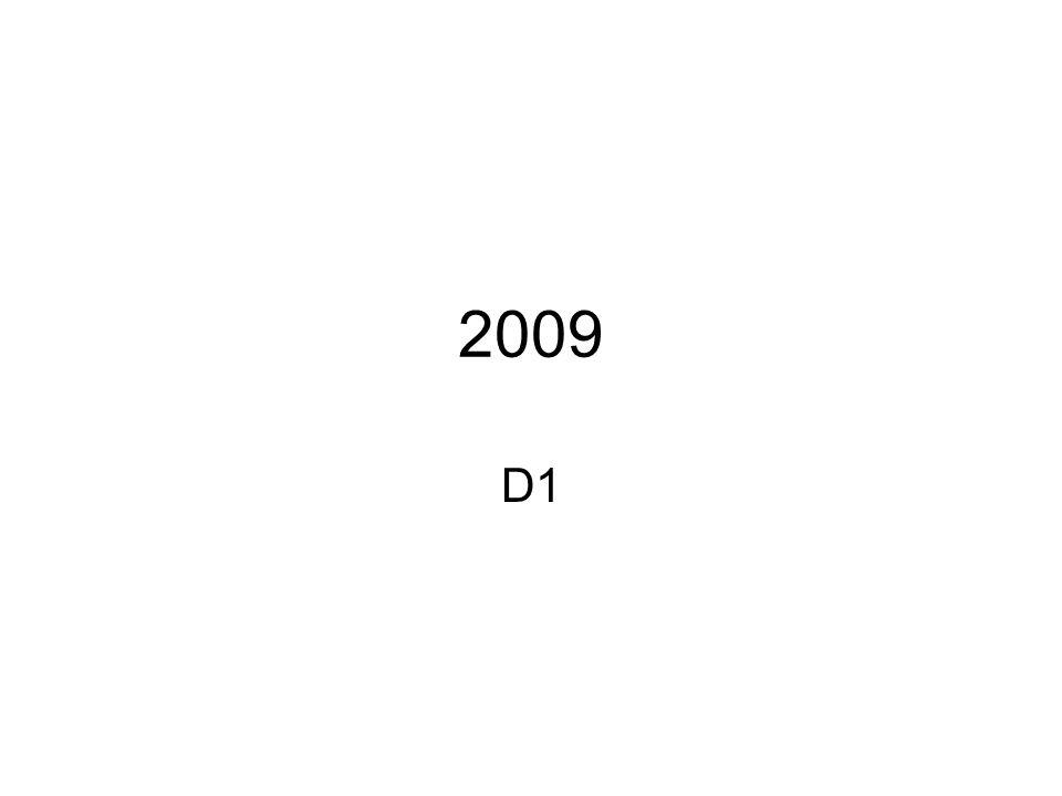 2009 D1