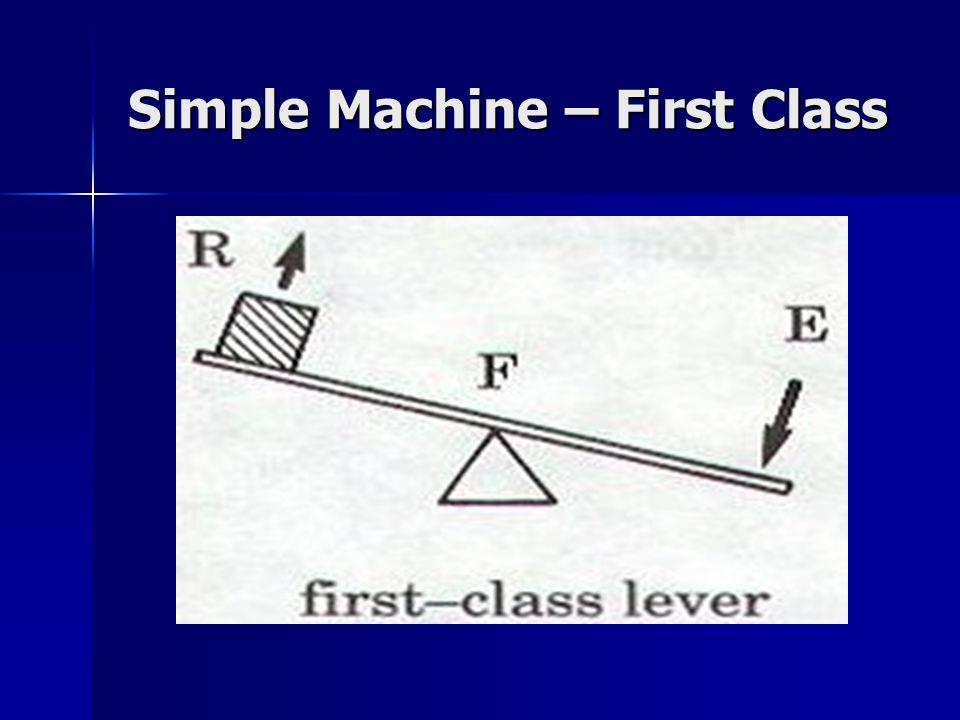 Simple Machine – First Class
