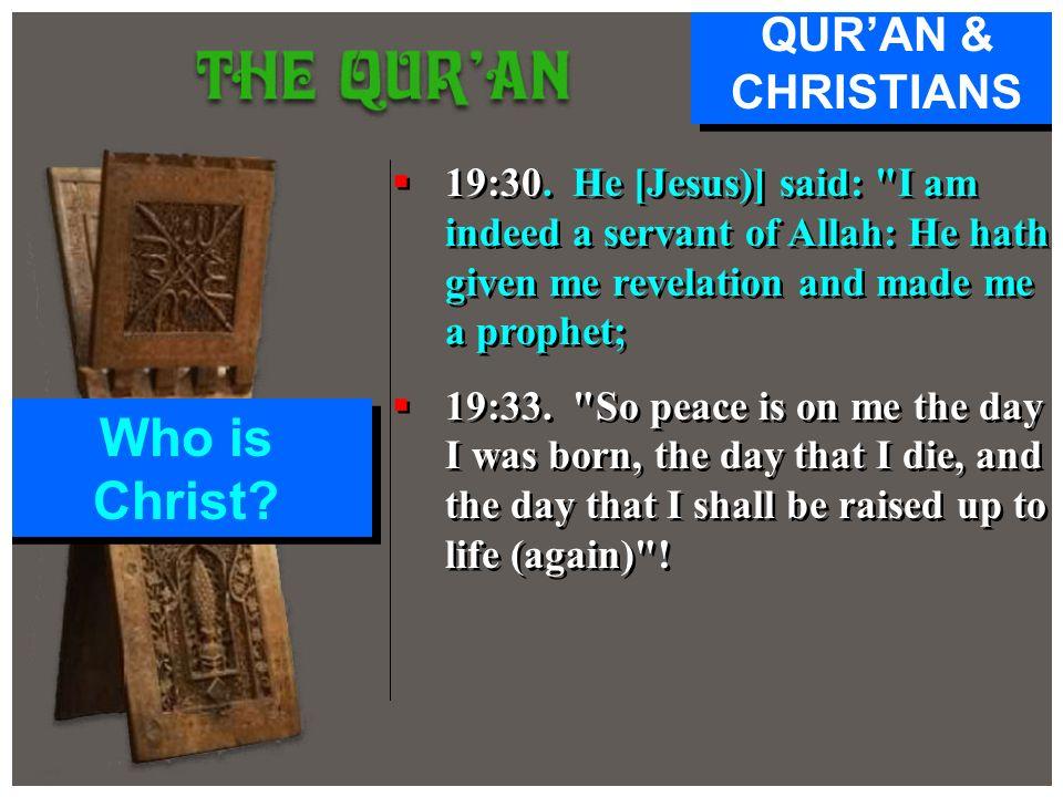19:30. He [Jesus)] said: