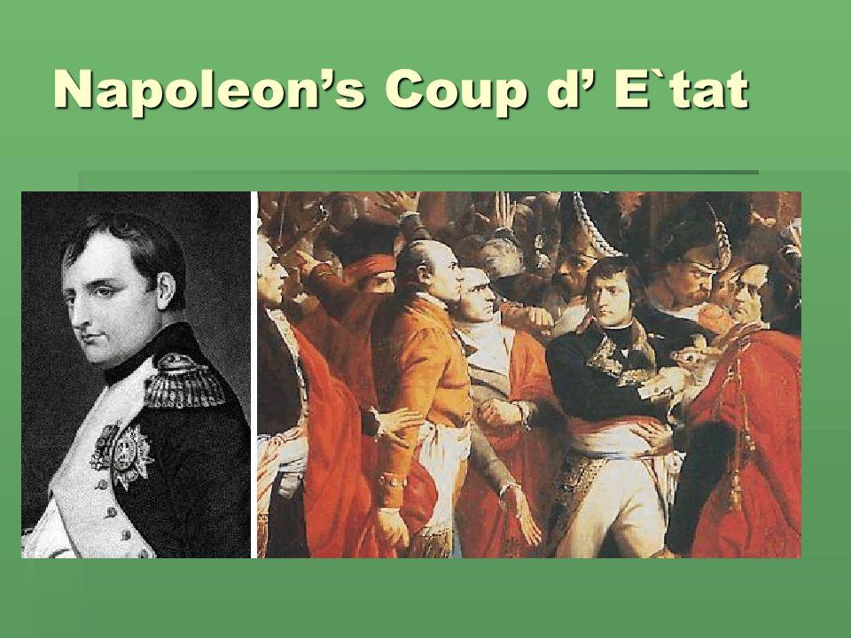 Napoleons Coup d E`tat