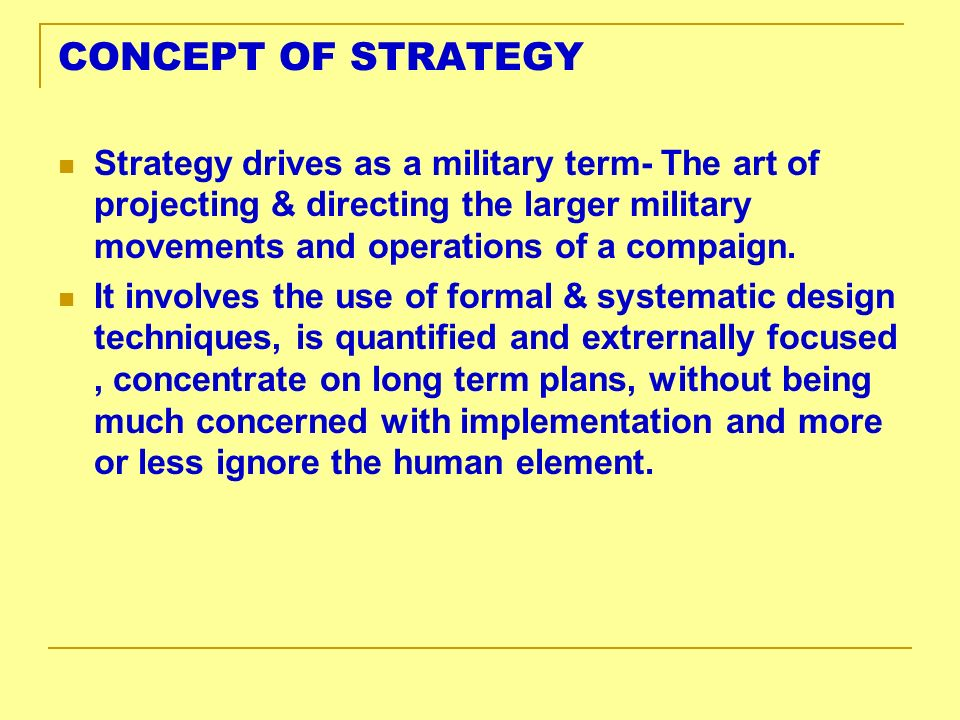 CONCEPT OF HUMAN RESOURCES A strategic & coherent approach to the management of an organizations most valued assets-the people, who contribute to the achievement of organizational objectives.