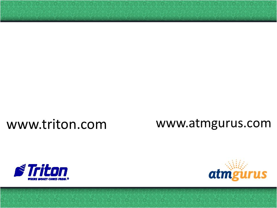 www.triton.com www.atmgurus.com