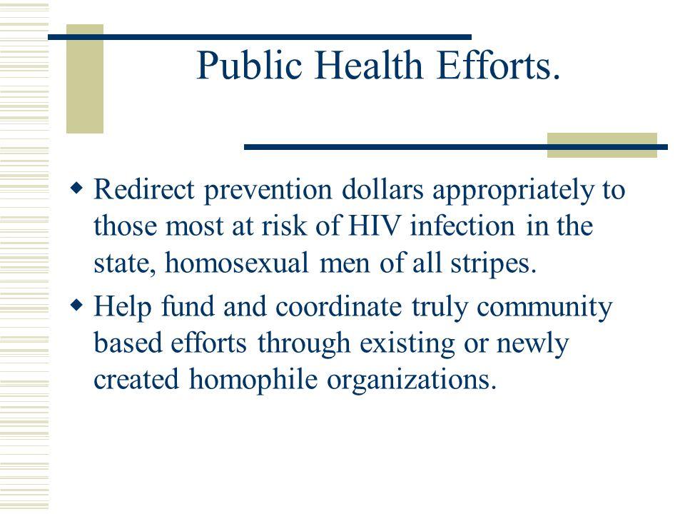 Public Health Efforts.