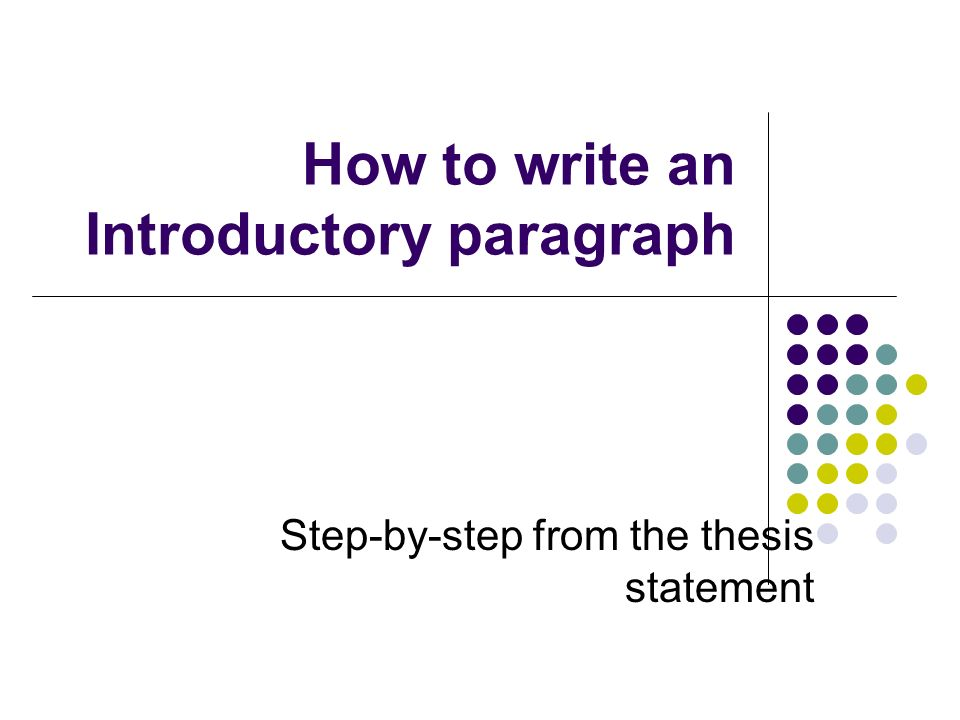 Remember The larger concept in your introduction may be a good thing to return to at the close of your essay.