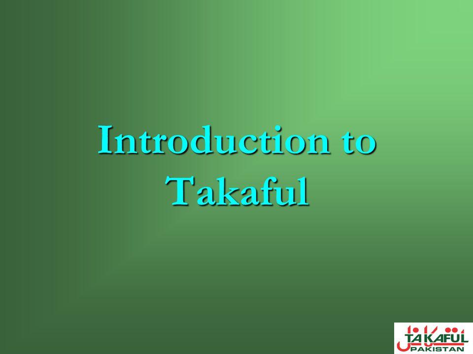 Takaful comes from the Arabic root-word kafala guarantee.