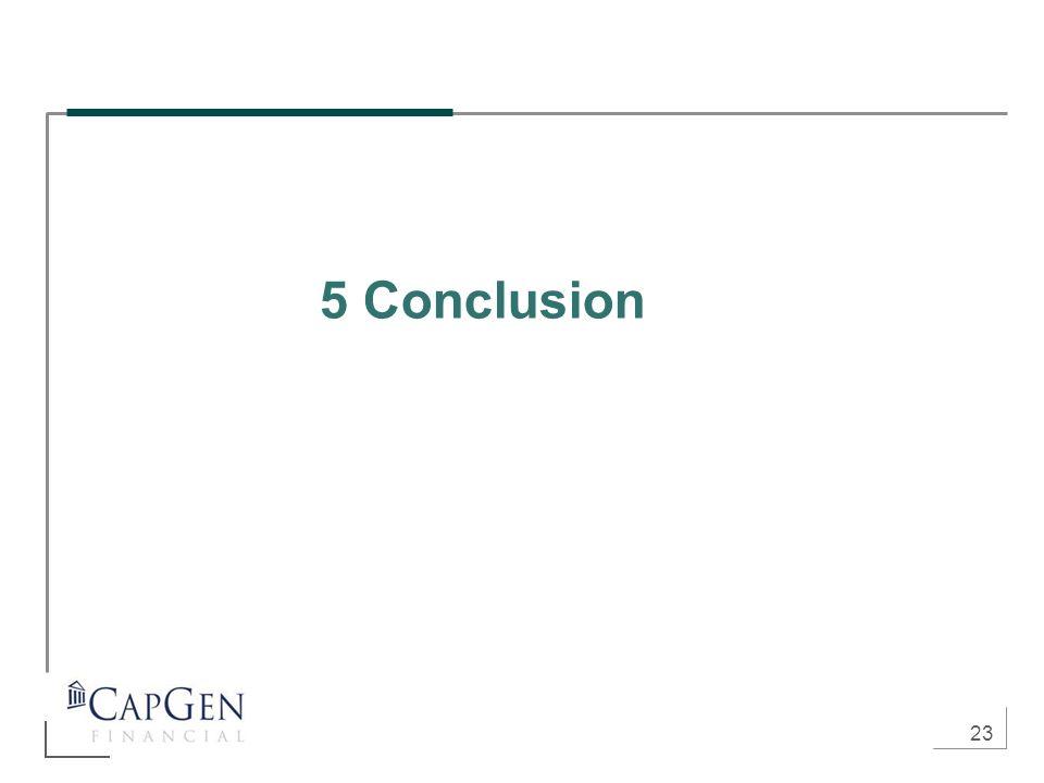 23 5 Conclusion