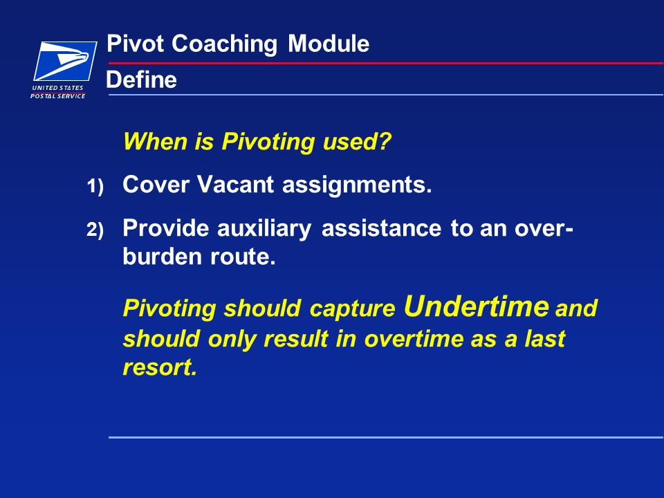 Route Pivoting Opportunity Model