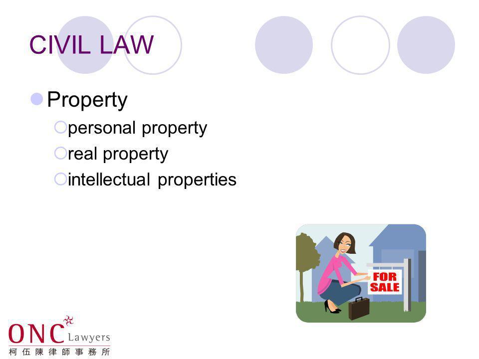 CIVIL LAW Torts negligence nuisance defamation ….