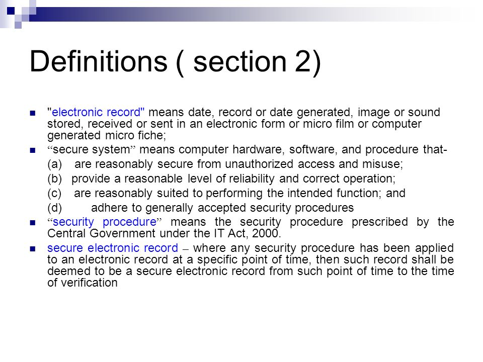 Section 66: Hacking Ingredients – Intention or Knowledge to cause wrongful loss or damage to the public or any person – Destruction, deletion, alteration, diminishing value or utility or injuriously affecting information residing in a computer resource Punishment – imprisonment up to three years, and / or – fine up to Rs.