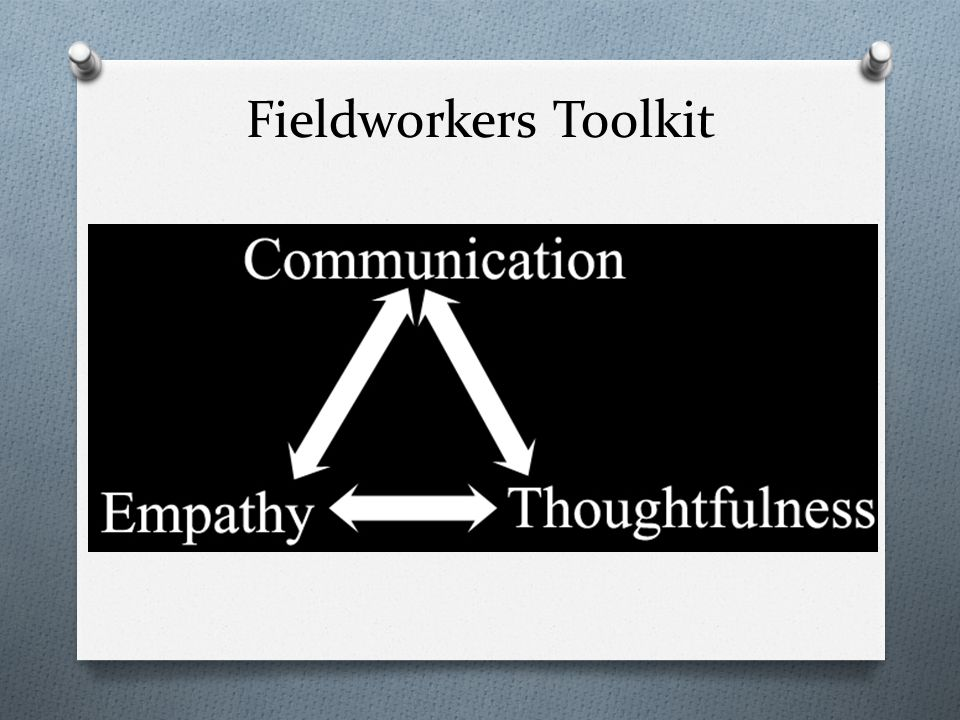 Fieldworkers Toolkit