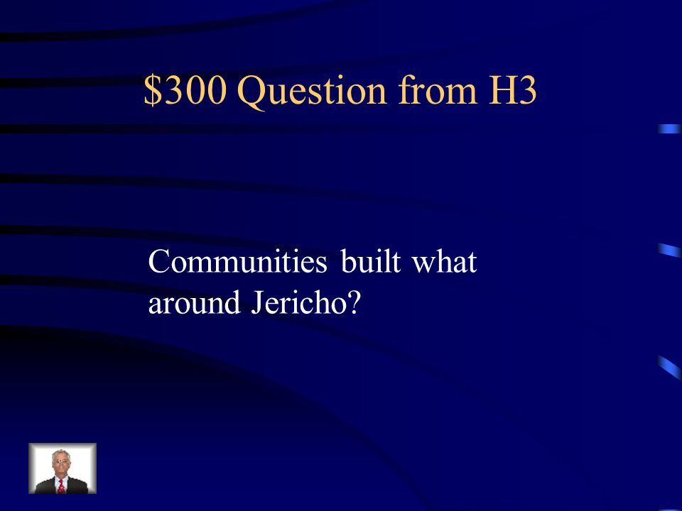 $200 Answer from H3 Caves, huts, or tent-like structures..