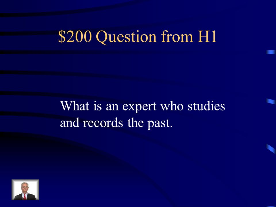 $100 Answer from H1 Geographer