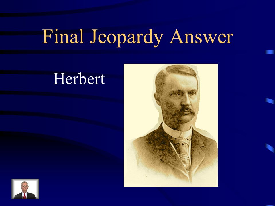 Final Jeopardy Slauson Middle School is name after Mr. Slauson. What is his first name?