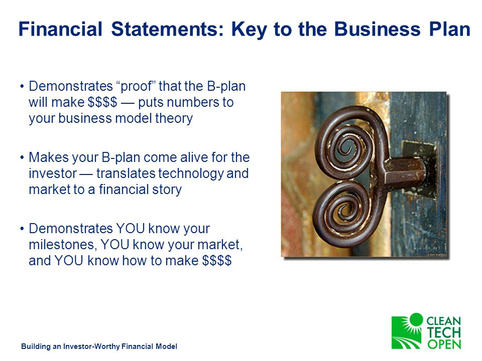 What are Financial Statements Building an Investor-Worthy Financial Model