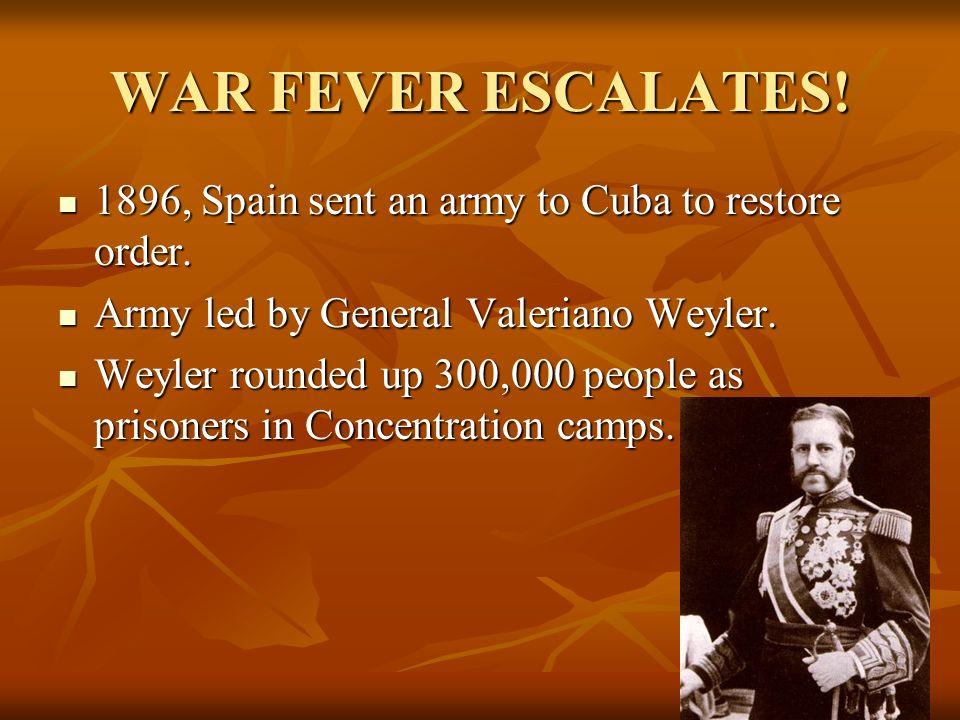 JOSE MARTI 1895, Cubans began 2 nd war for independence. 1895, Cubans began 2 nd war for independence. Rebellion led by Jose Marti, a Cuban poet & jou