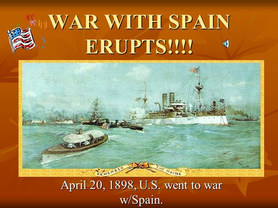 Newspapers blamed Spain.